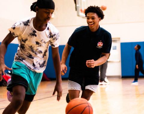 Basketball at the Hub